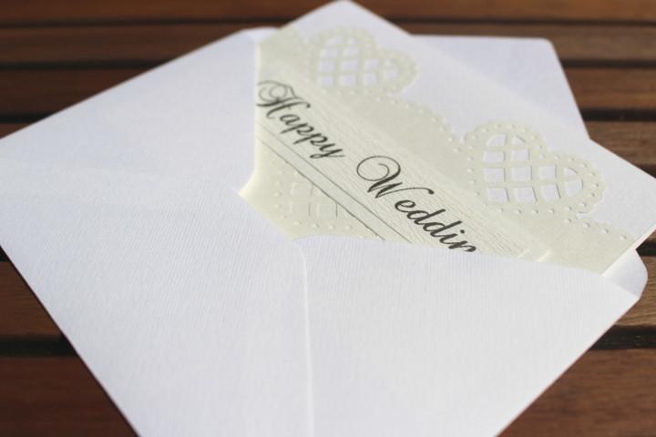 """Shiori のメッセージカード """"Happy Wedding""""_2"""