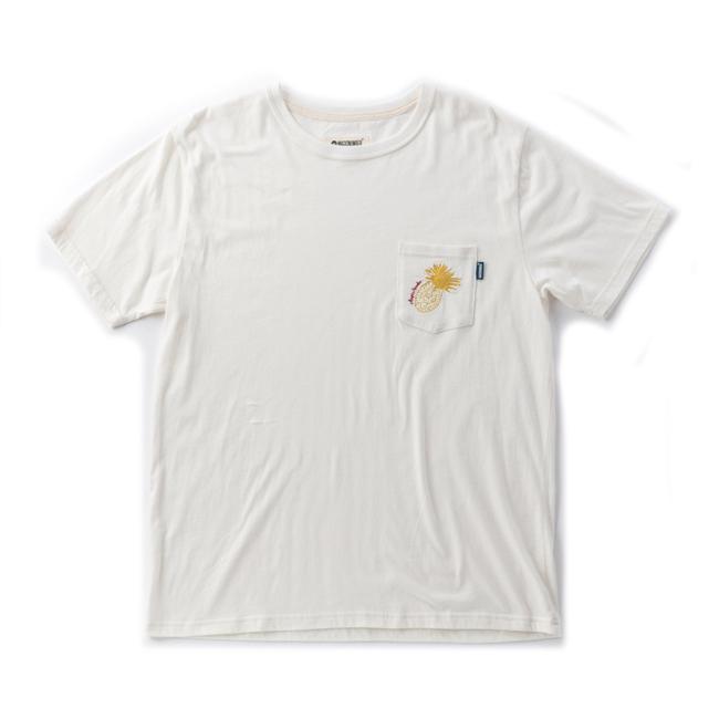 MAGIC NUMBER トロピカル ポケット Tシャツ ホワイト