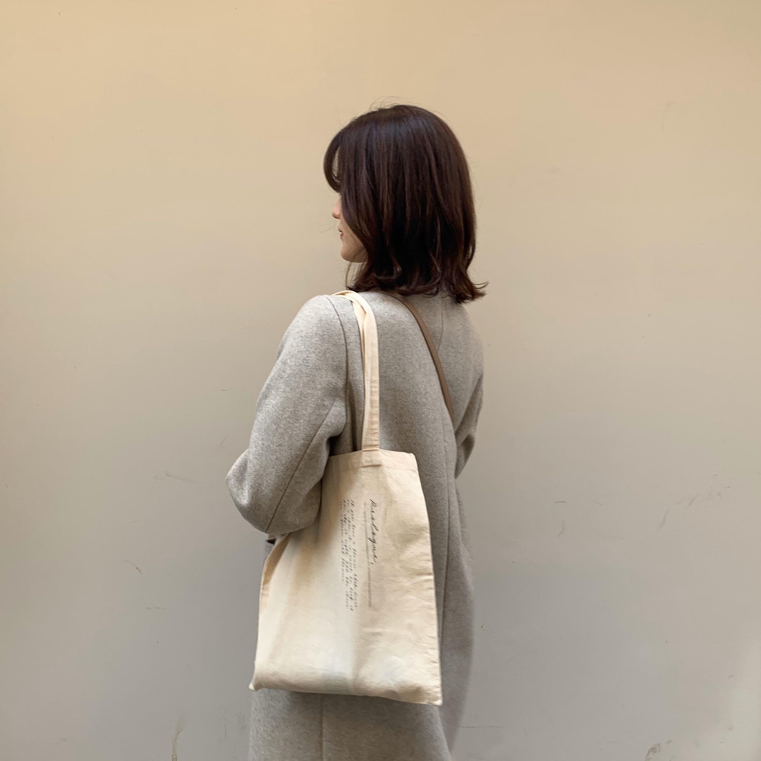 letter(tote bag)