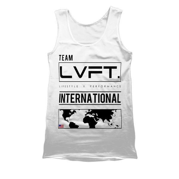 LIVE FIT International Tank - White VT900