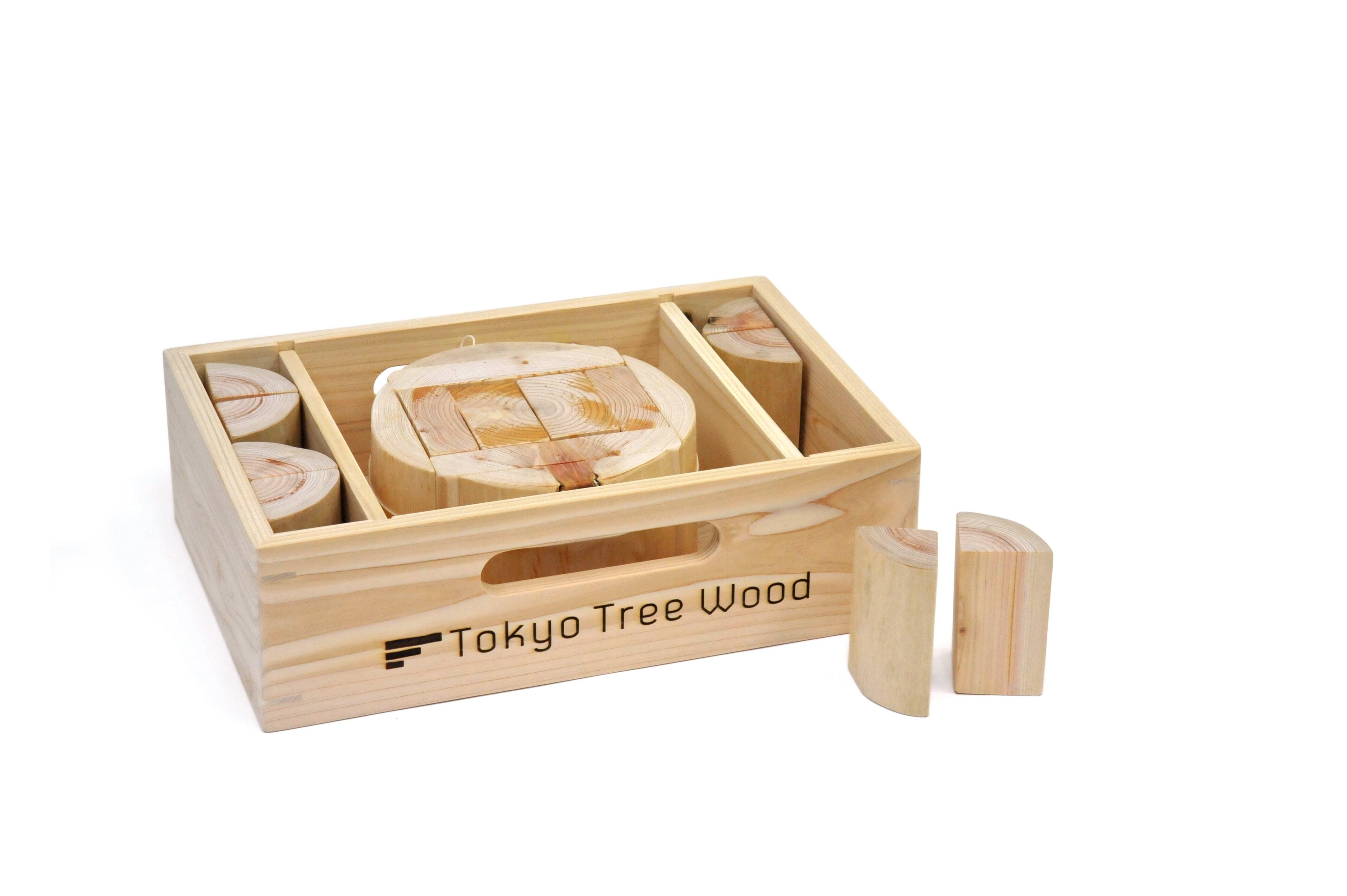 Tokyo Tree Wood 丸太の木取りつみき