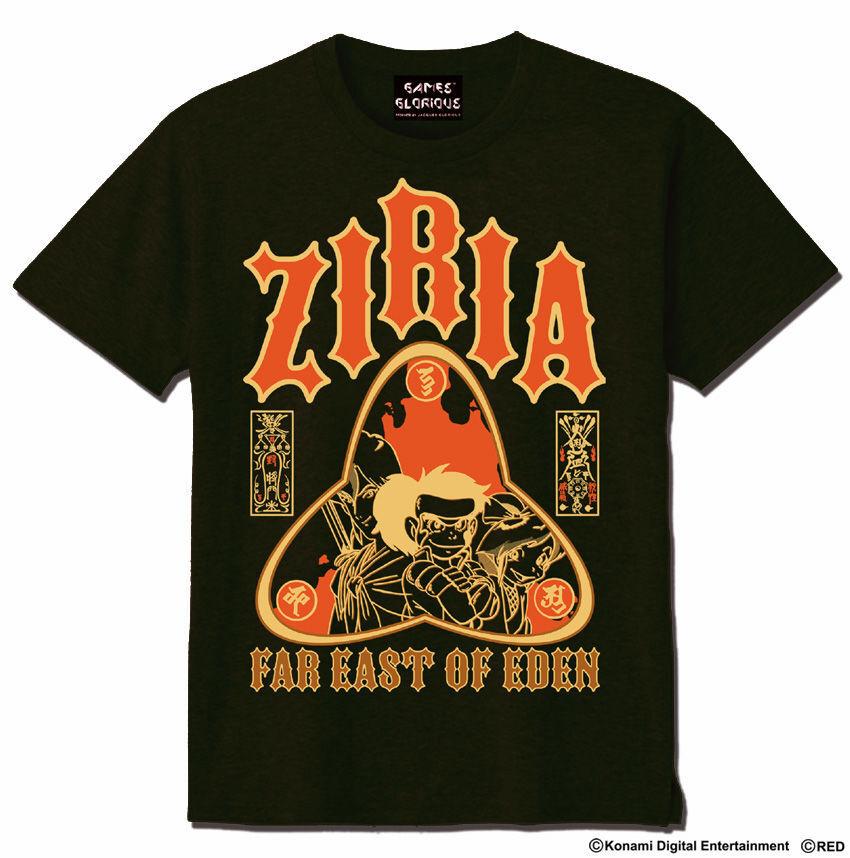 天外魔境ZIRIA Tシャツ   アーミーグリーン  / GAMES GLORIOUS