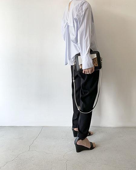 バックツイストシャツ / Lallia Mu