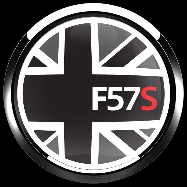 ゴーバッジ(ドーム)(CD1025 - FLAG BLACKJACK F57S) - 画像3
