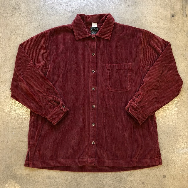 LLbean Corduroy Shirt #02