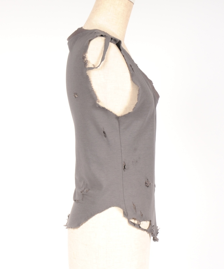 hs18SM-IR09 DAMAGE N/S-short (gray)