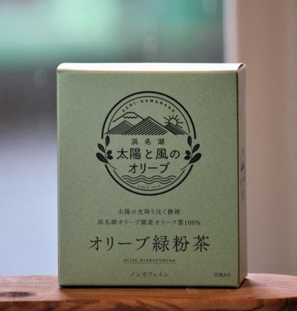 オリーブ茶葉 緑粉茶(1.5ℊ×15包入り)