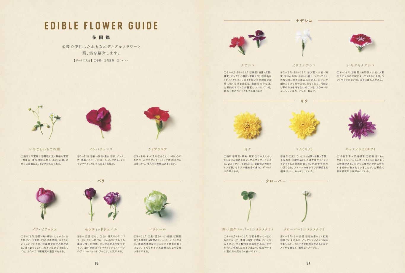 [書籍]FLOWER SWEETS エディブルフラワーでつくるロマンチックな大人スイーツ - 画像5