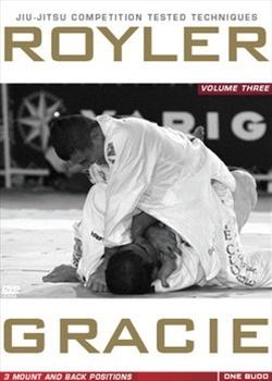 ホイラー・グレイシー COMPETITION TESTED TECHNIQUES DVD 3: MOUNT AND BACK POSITIONS|ブラジリアン柔術教則DVD