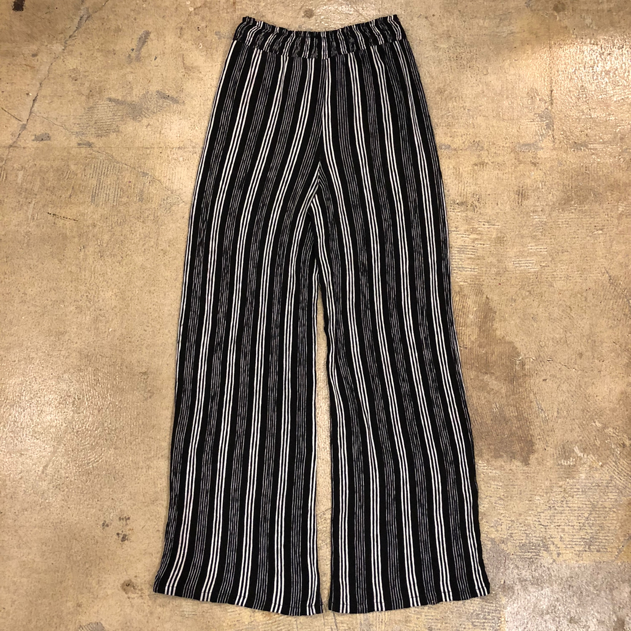 Mustardseed Stripe Easy Pants ¥5,200+tax