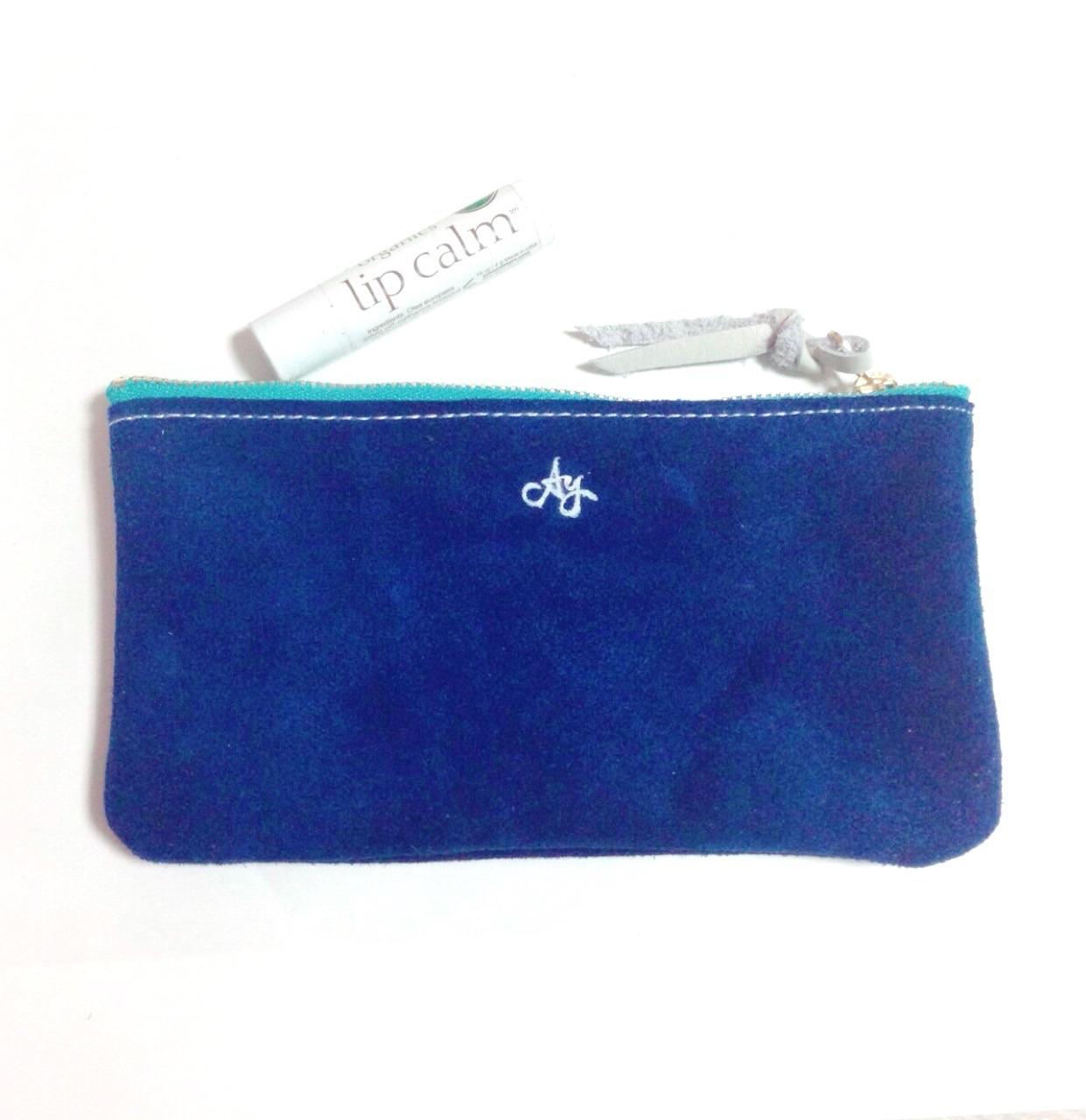 pouch -deep blue-