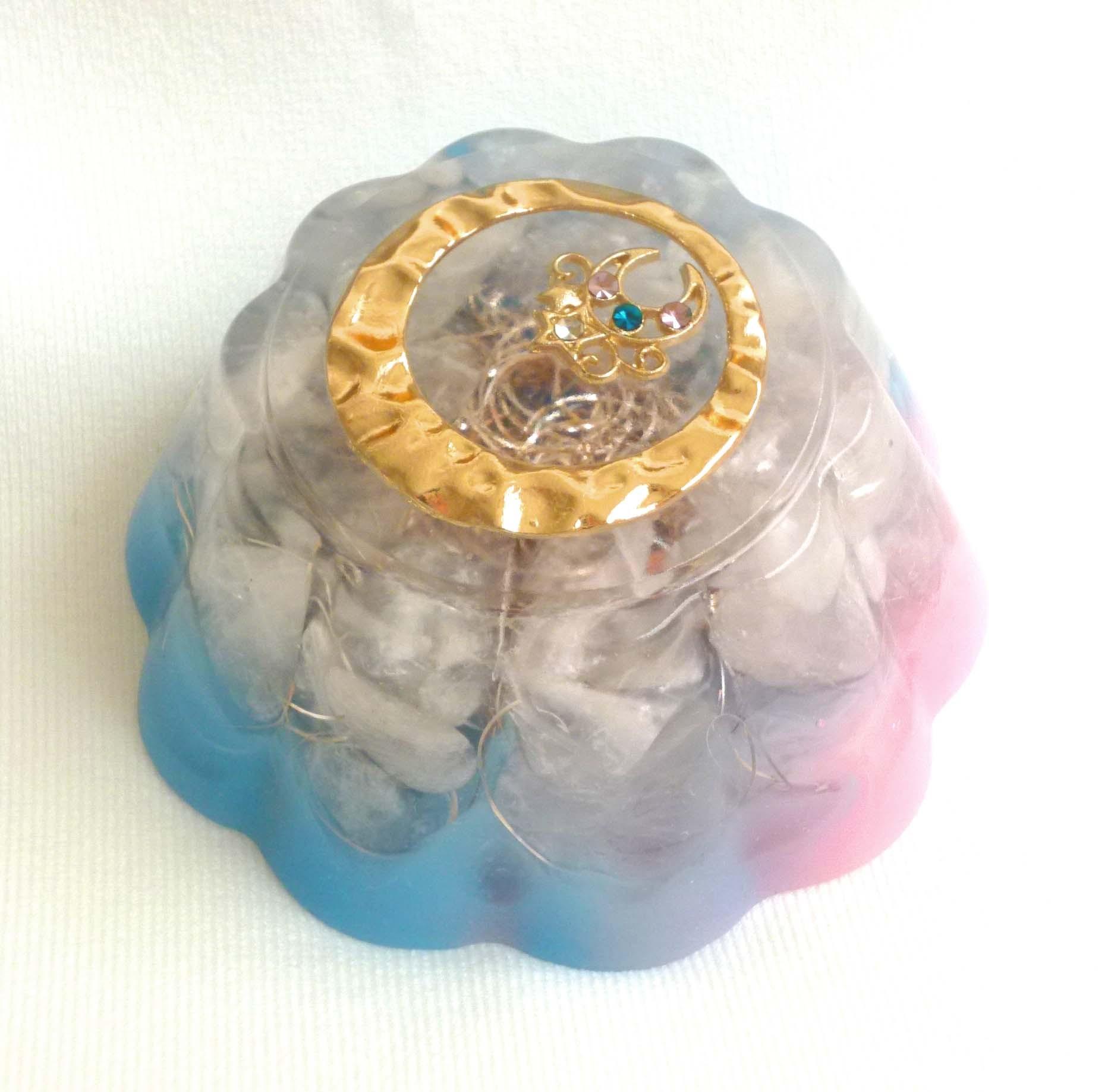 ムーン・プリンセス 夜明 ゼリー型オルゴナイト