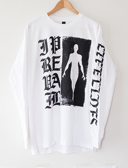 【I PREVAIL】Old English Lifelines Long Sleeve (White)