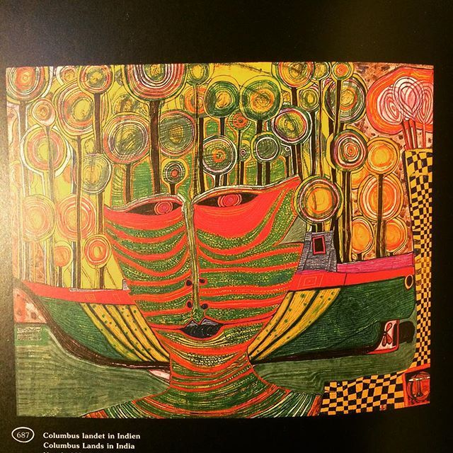 画集「Hundertwasser : The Art of the Green Path」 - 画像2