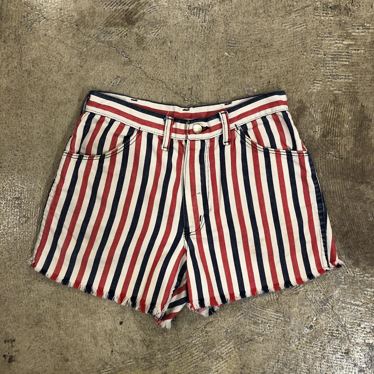 Maverick Stripe Cutoff Pants ¥4,600+tax