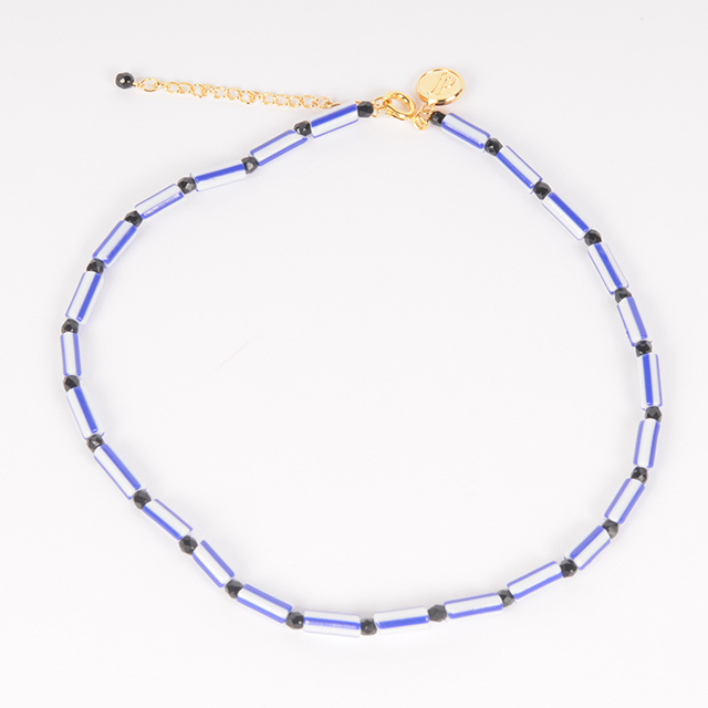 df19SM-J09 BEADS NECKLACE-A
