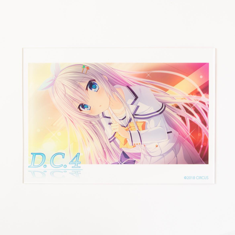 D.C.4 ~ダ・カーポ4~アクリルパネル【A4】-鷺澤有里栖-