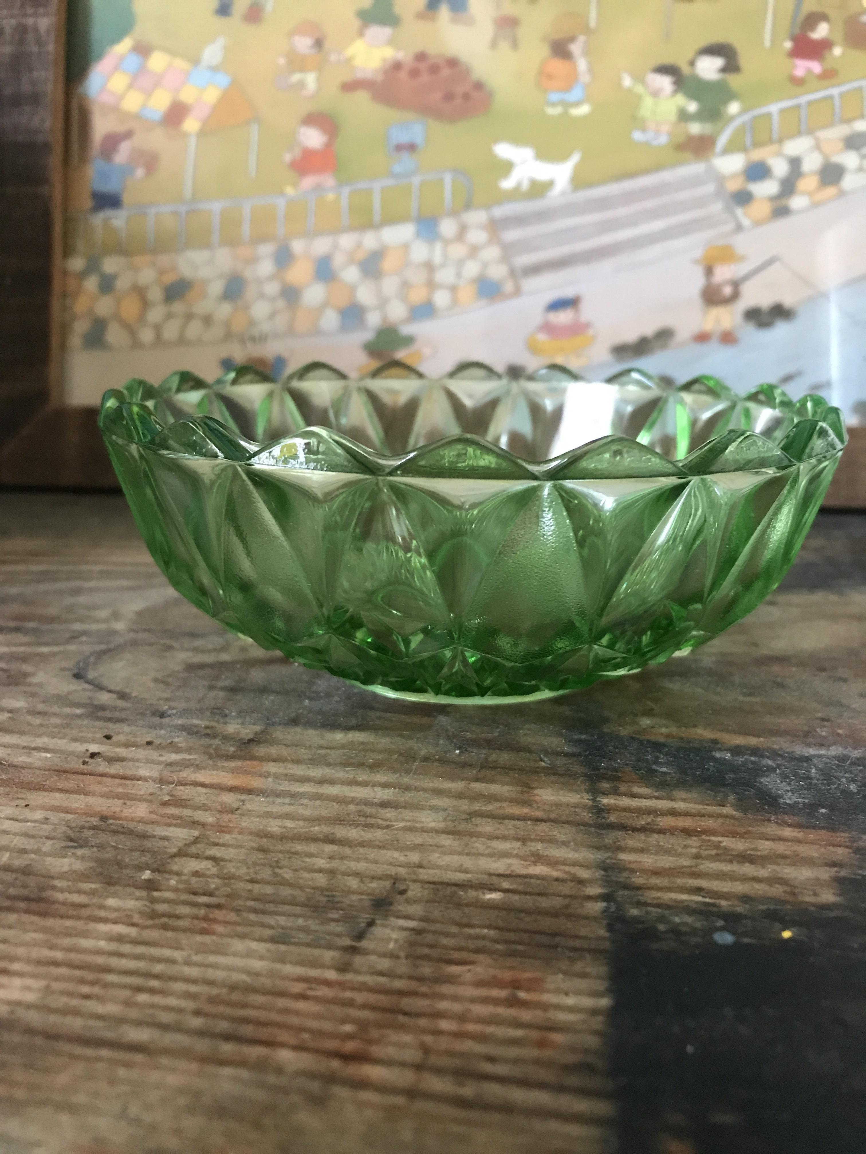 レトロ ガラス小鉢