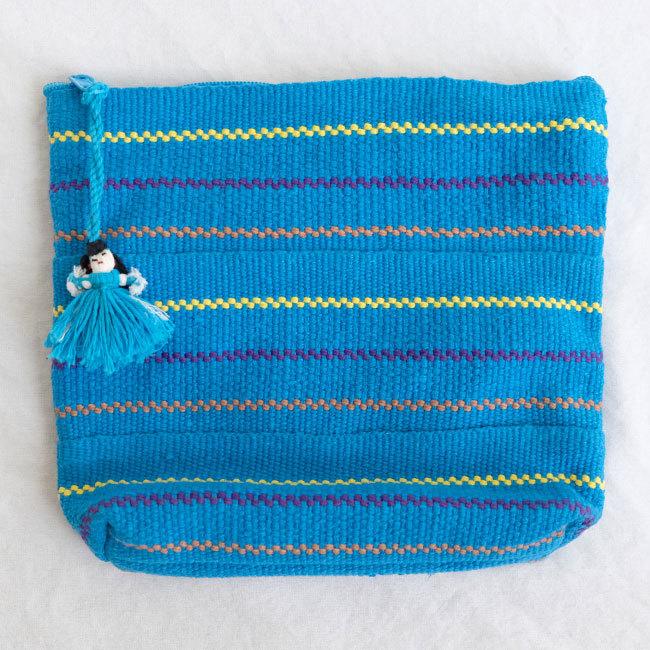 メキシコの手織りポーチ /208_c/ MEXICO