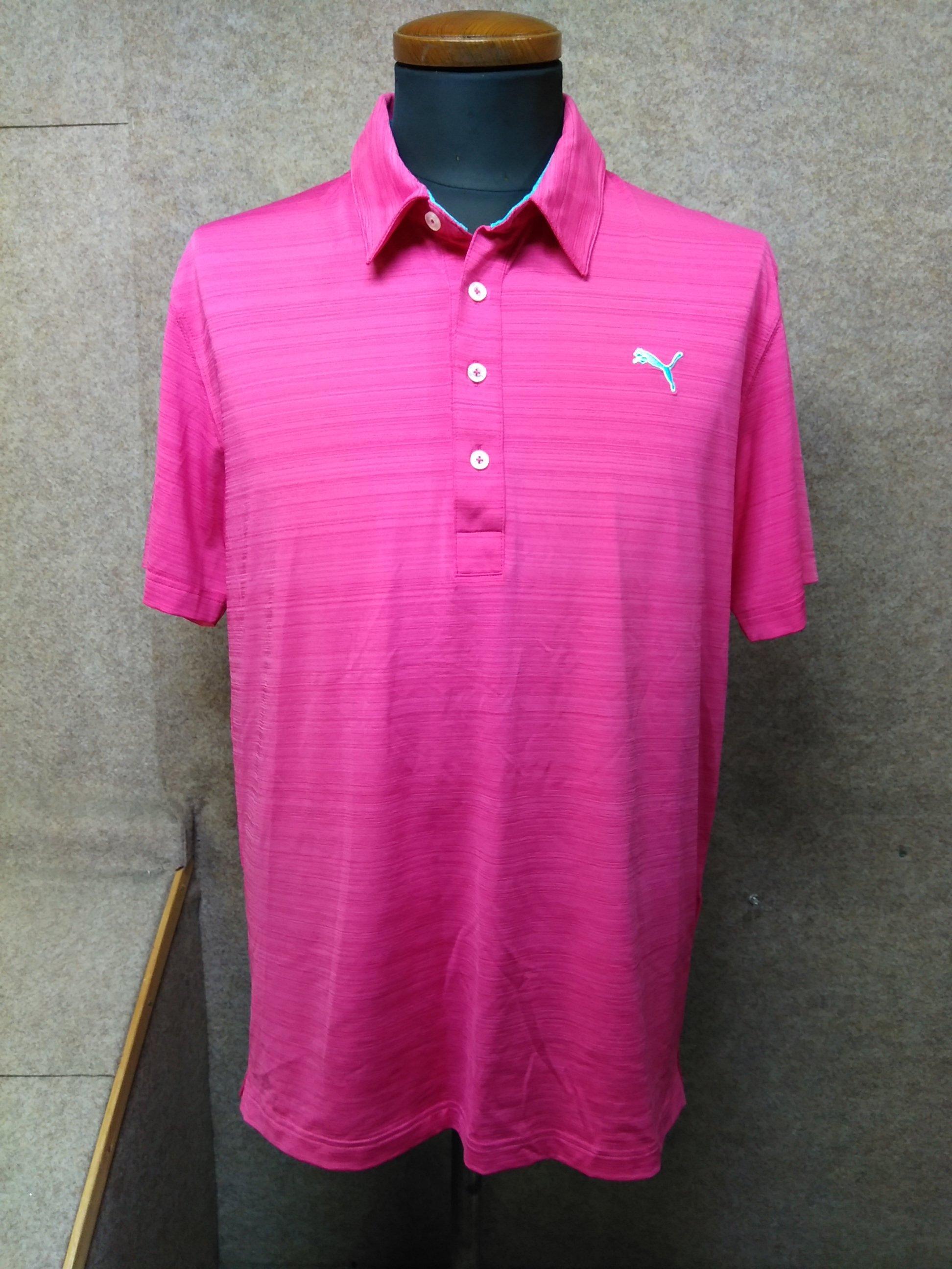 プーマ ポロシャツ メンズ XL ピンク系 DRY my992c