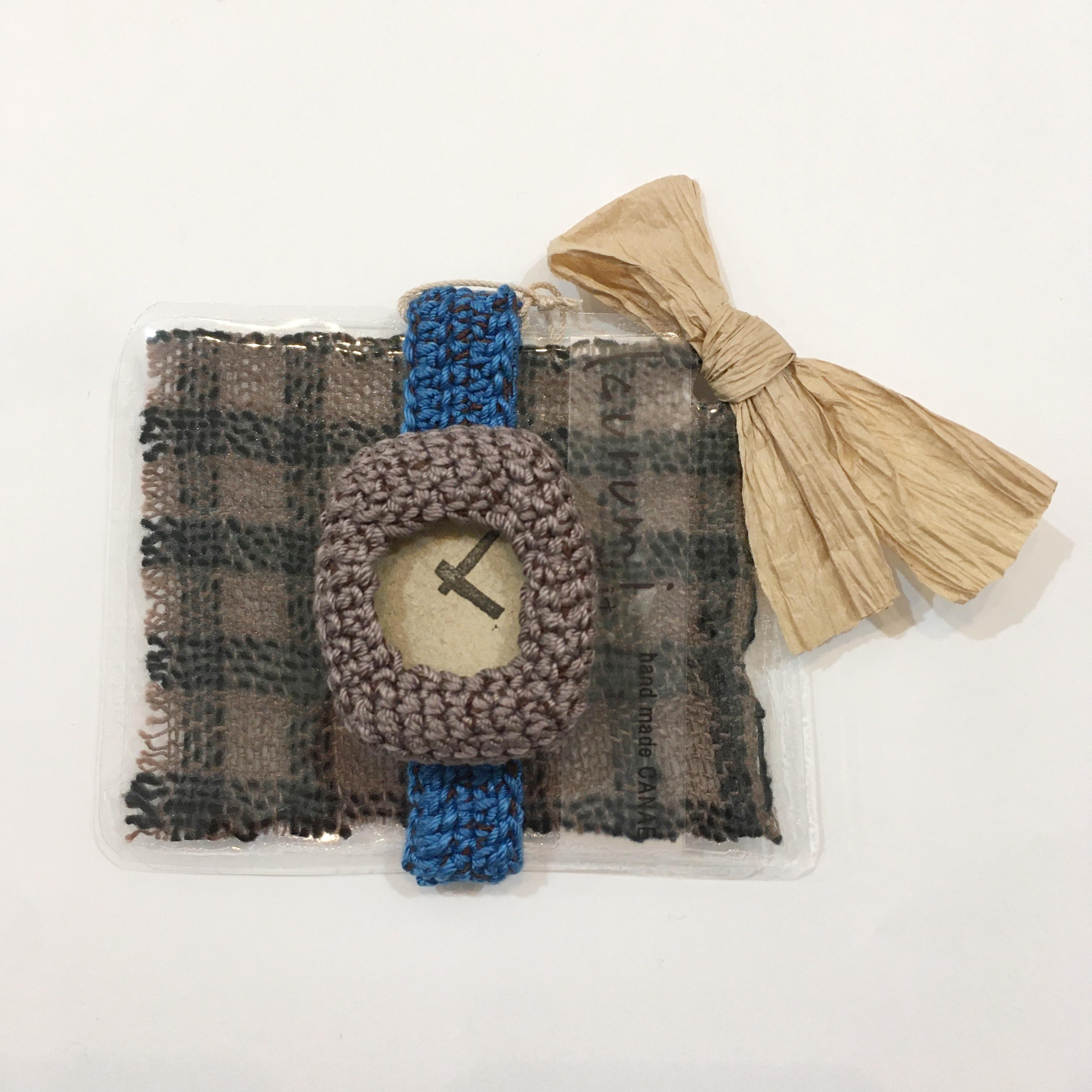 【handmadeCANAE】kurumi時計 替えベルト(大)ナチュラル Mサイズ