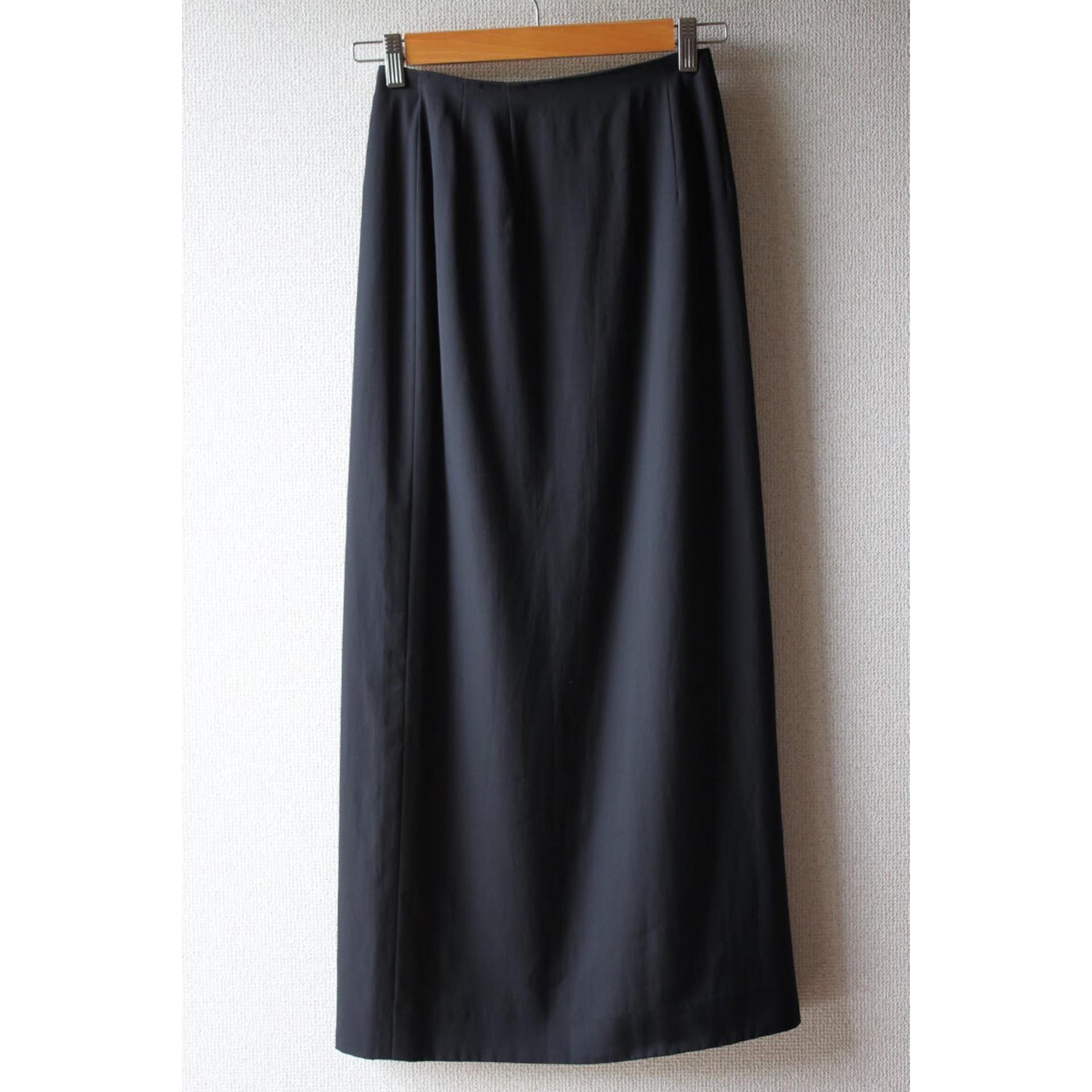 Long black skirt by LANVIN