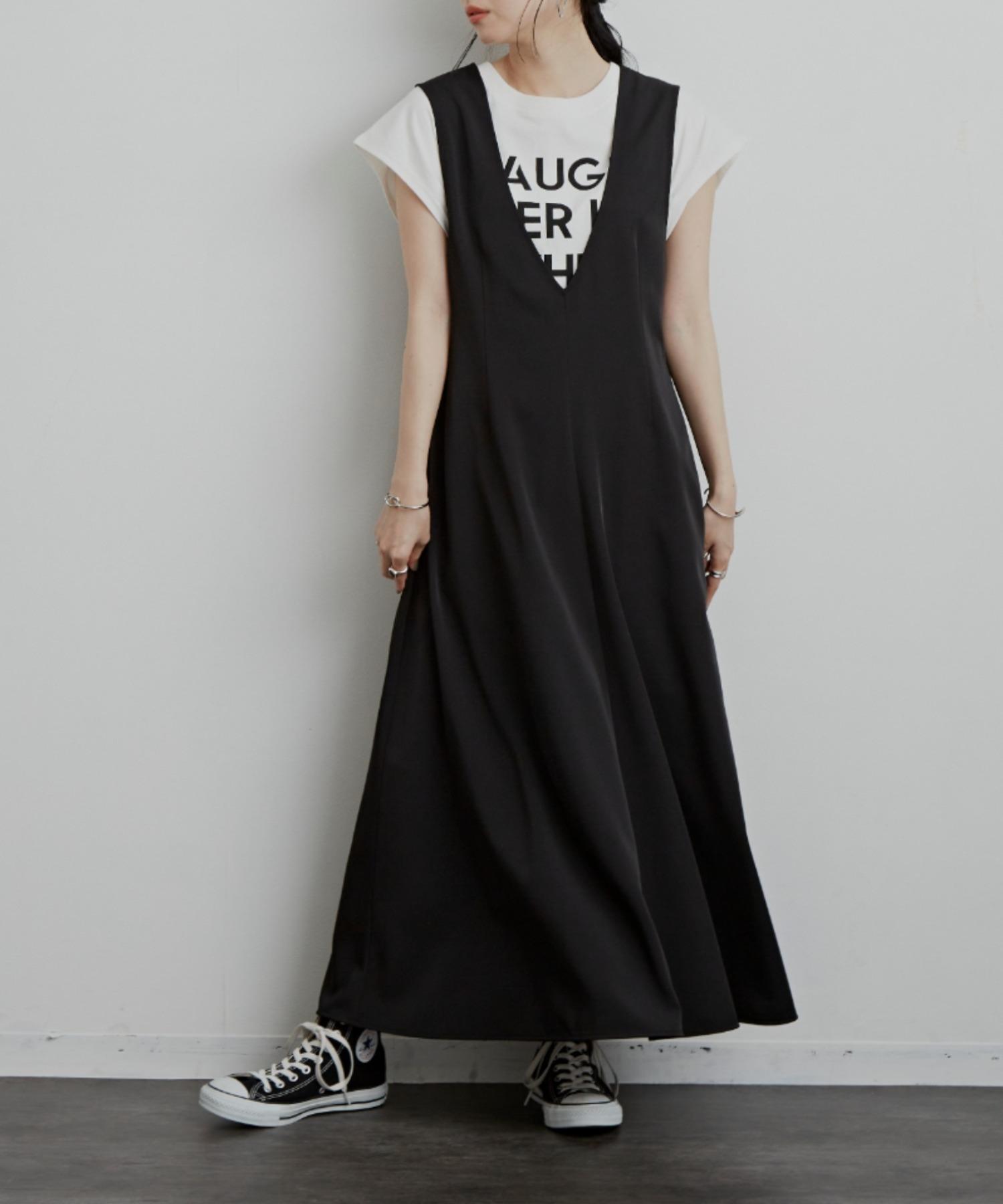 Vフレアラインジャンスカ/BLK