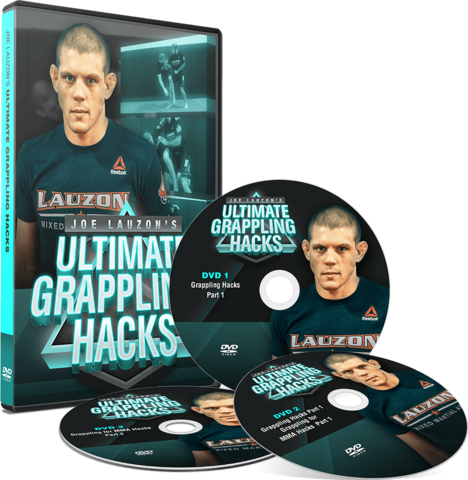 ULTIMATE GRAPPLING HACKS BY JOE LAUZON (3 DVD SET)