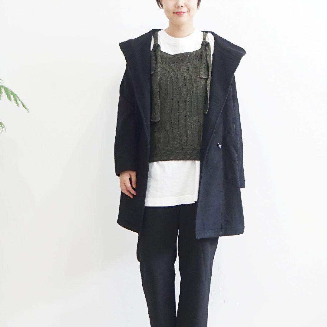 hannes roether ハネスルーザー knit vest ニットベスト 正規取扱店 (品番hr-plasir148-02)