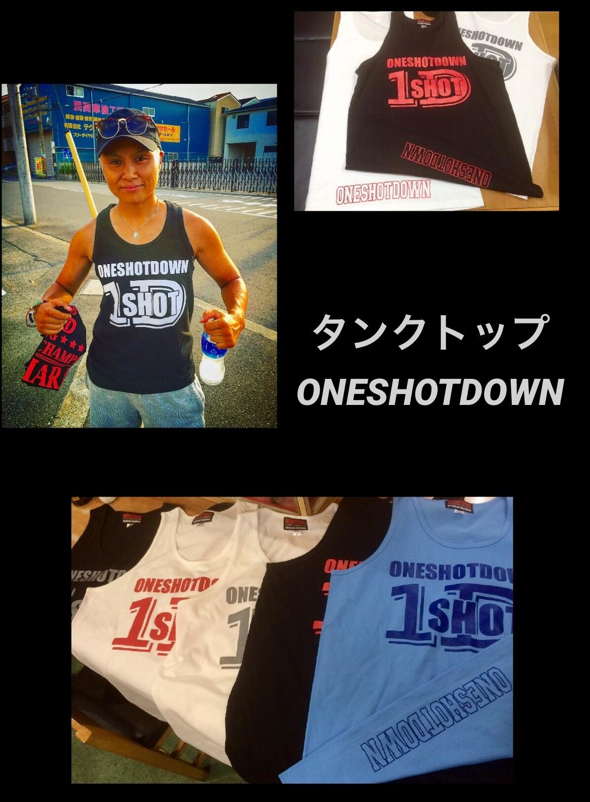 ONESHOTDOWN ロゴ タンクトップ - 画像5