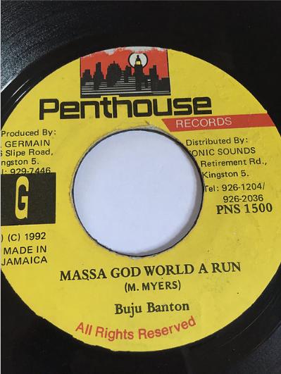 Buju Banton(ブジュバントン) - Massa God World A Run【7'】