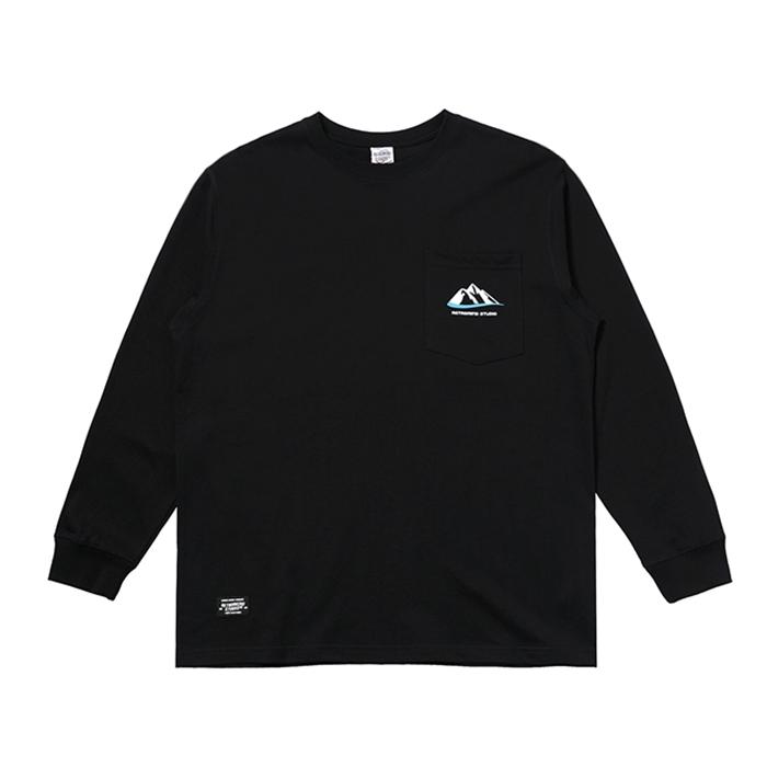 【UNISEX】アウトドア ロングスリーブ 長袖 Tシャツ 【2colors】