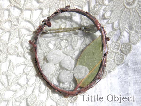 ブローチ - ブローチ だ円 - Little Object