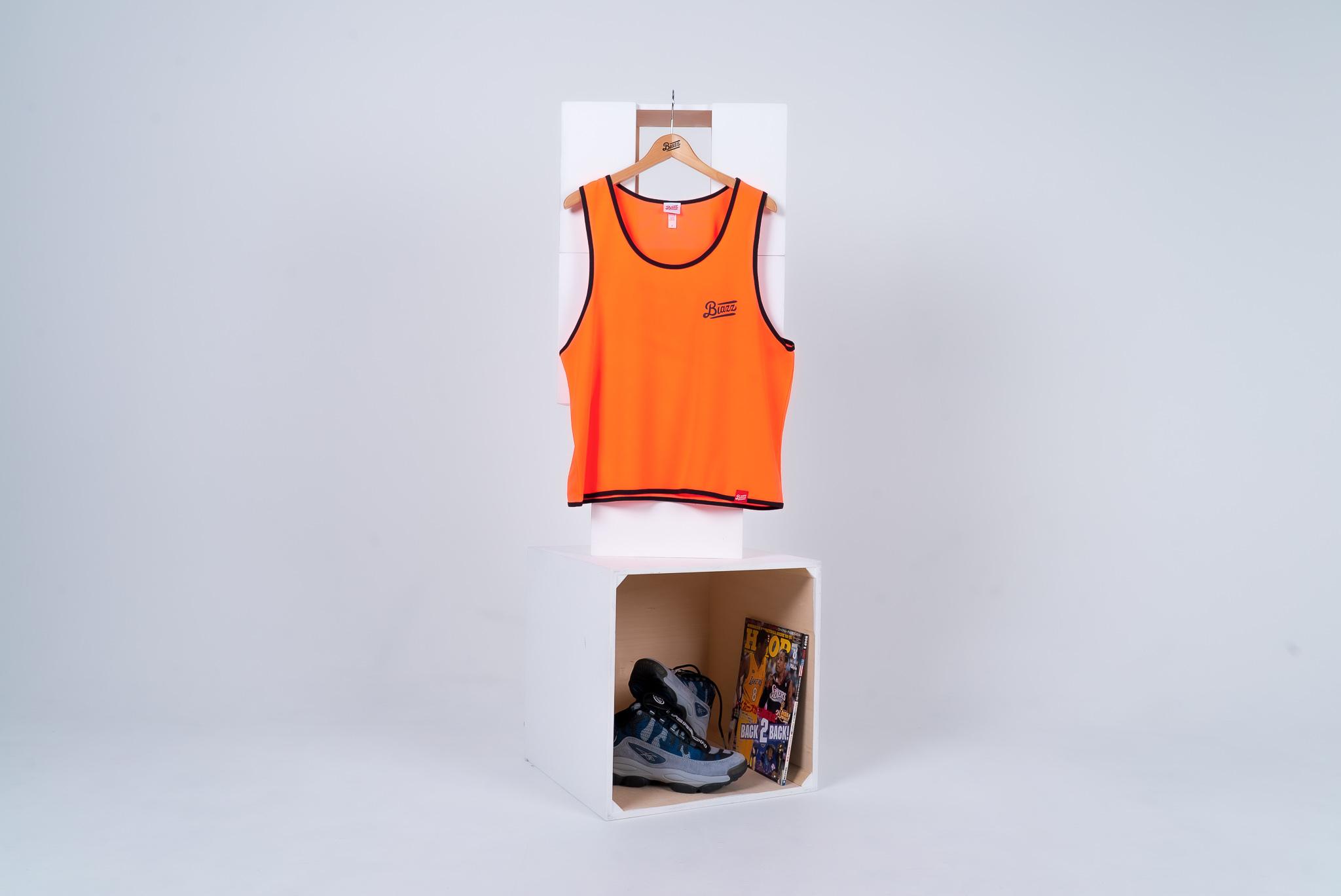 blazz sports bibs 5packs [NEON ORANGE]