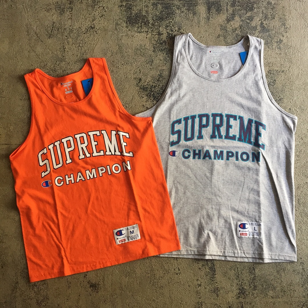 Supreme x Champion Tank Top