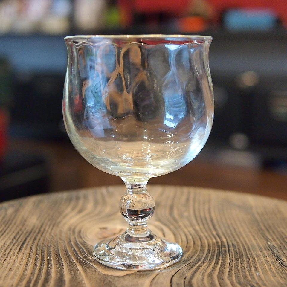 石川硝子工藝舎 網目ワイングラス