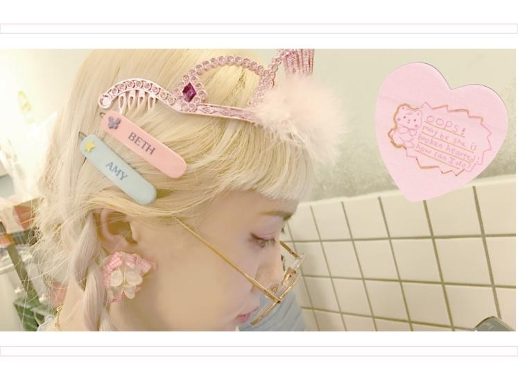 indie-love個展限定ZINE*LUCKY GIRLL