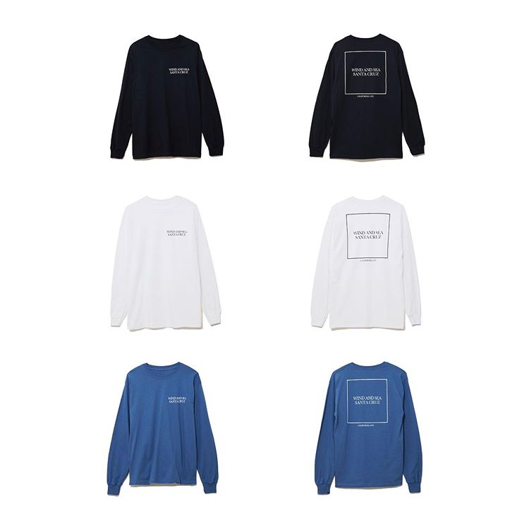 WDS LONG SLEEVE CUT- SEWN SANTA CRUZ