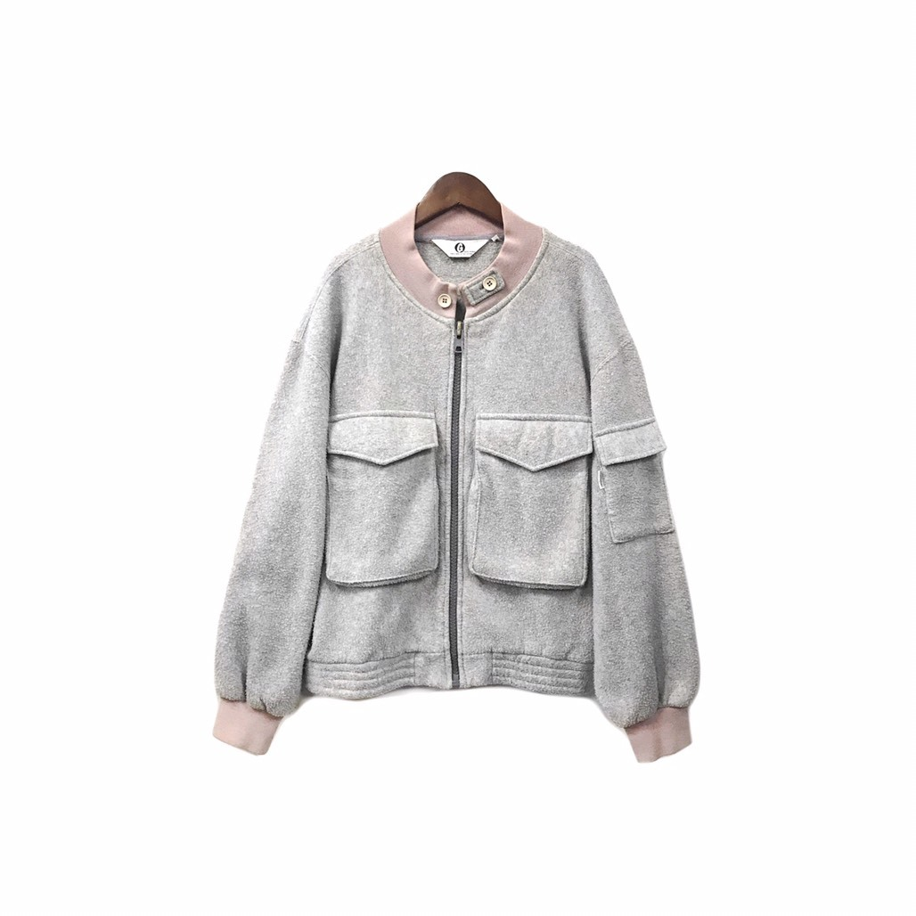GOODENOUGH - Fleece Zip Blouson (size - M) ¥14000+tax