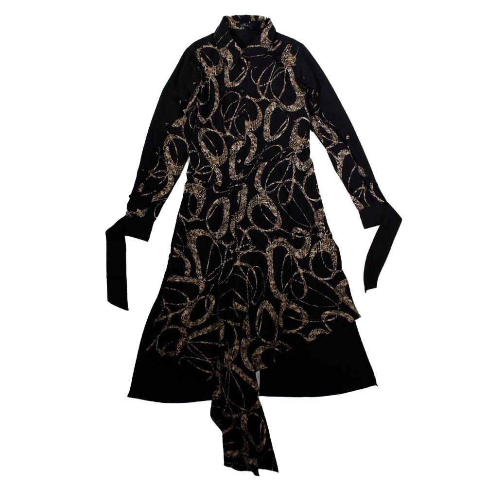 J KOO Asymmetric Dress