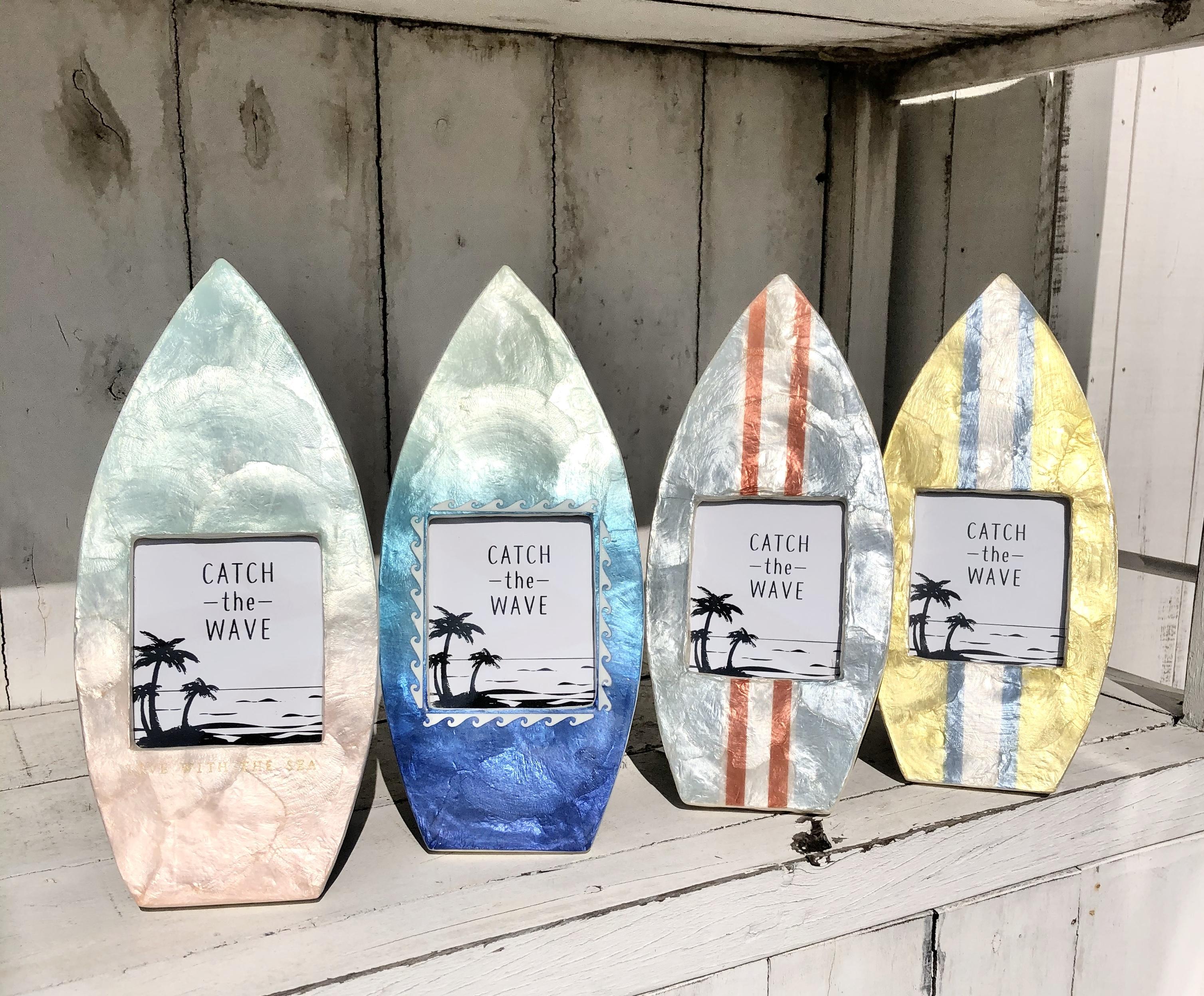 【セール】カピスフォトフレーム サーフボード全4色