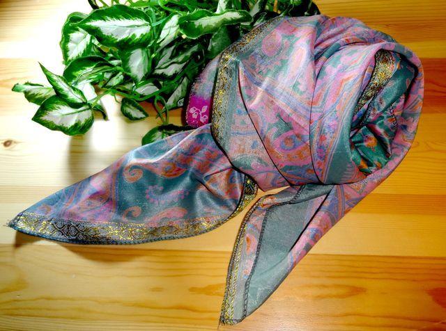 saris025 シルクサリーショール