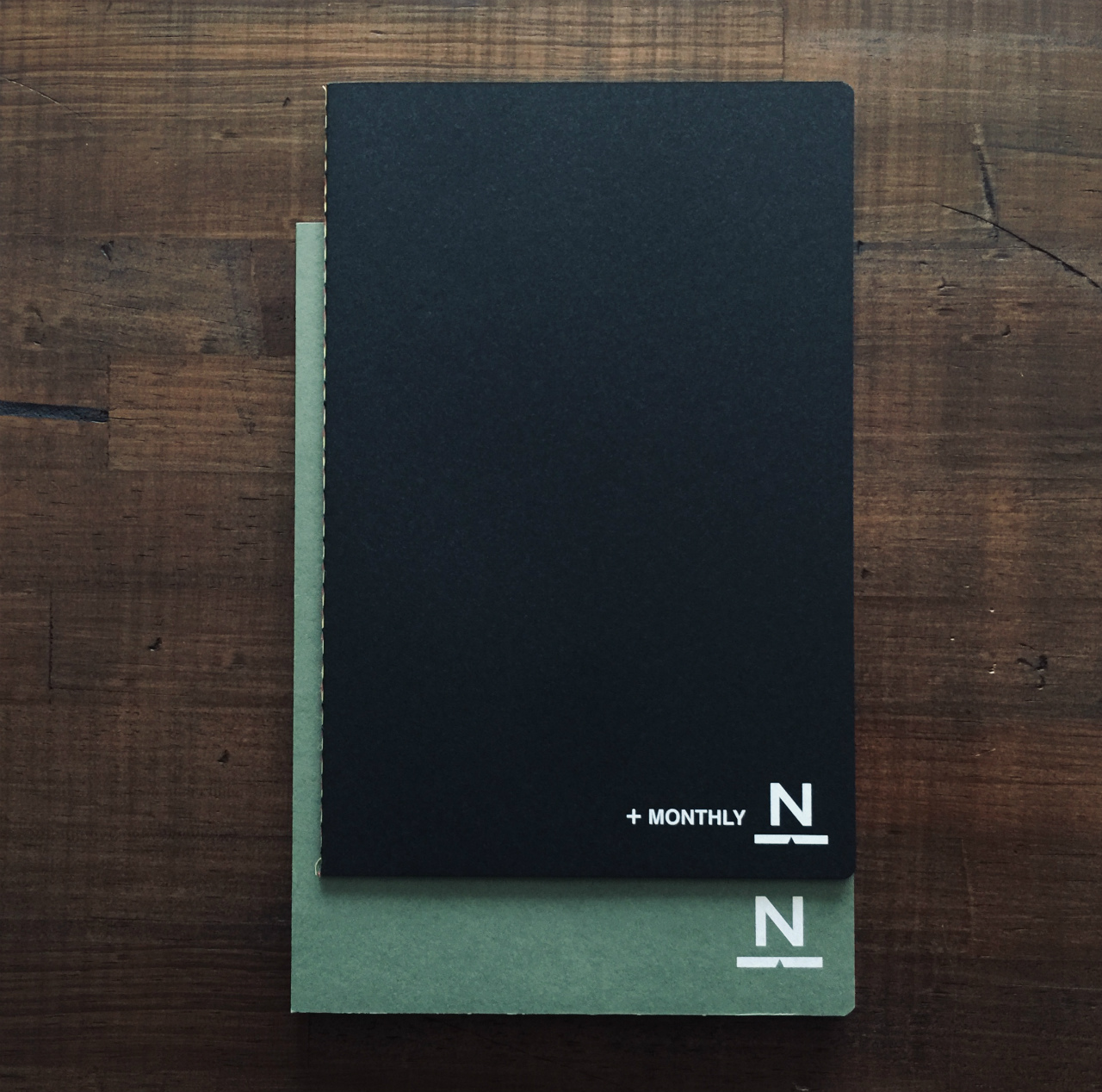 2019ノンブルノート「N」+MONTHLY(マンスリー帳)※値下げ中