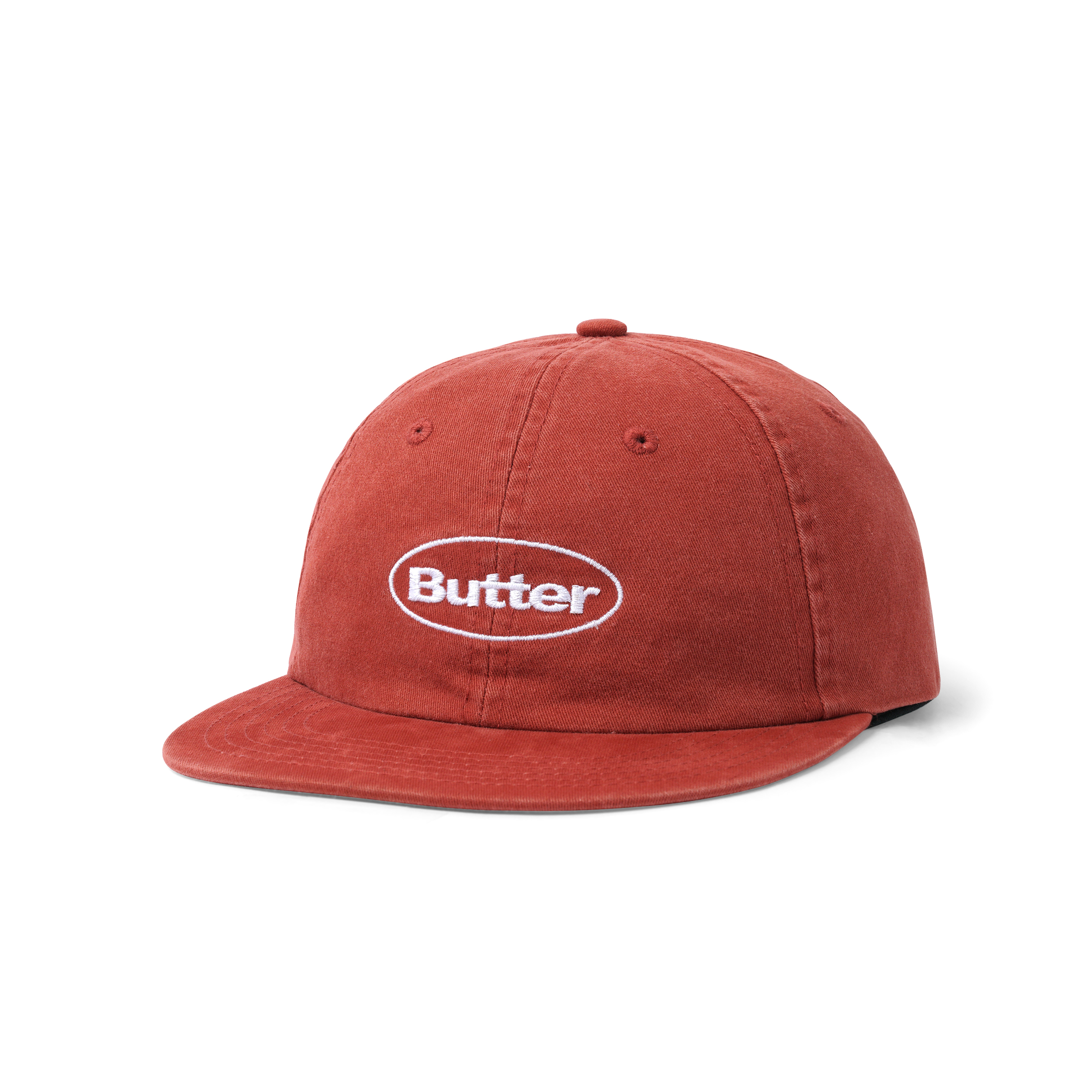 BUTTER GOODS 【Washed Badge Logo Hat  】
