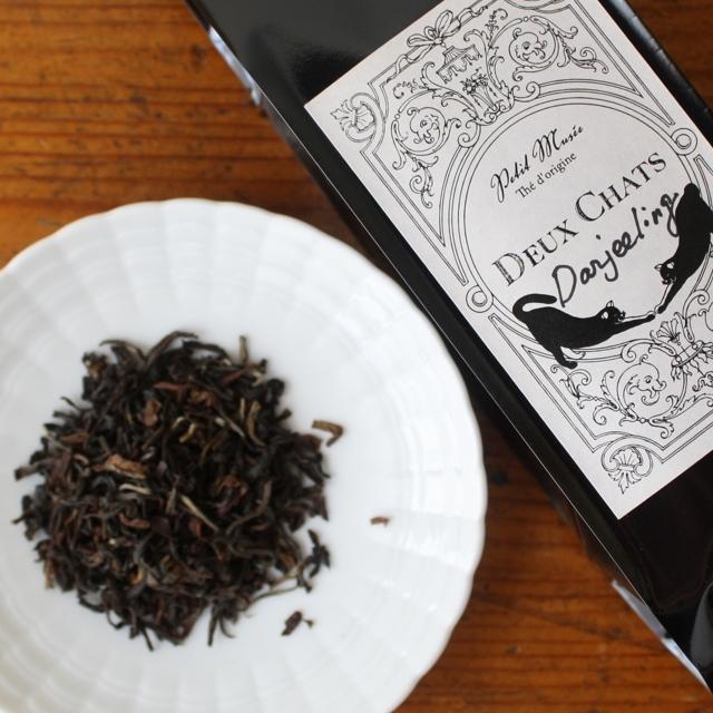 Darjeeling70g  Deux Chats紅茶リーフ
