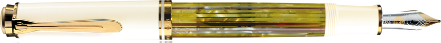 ペリカン 万年筆 スーベレーン M400 ホワイトトータス