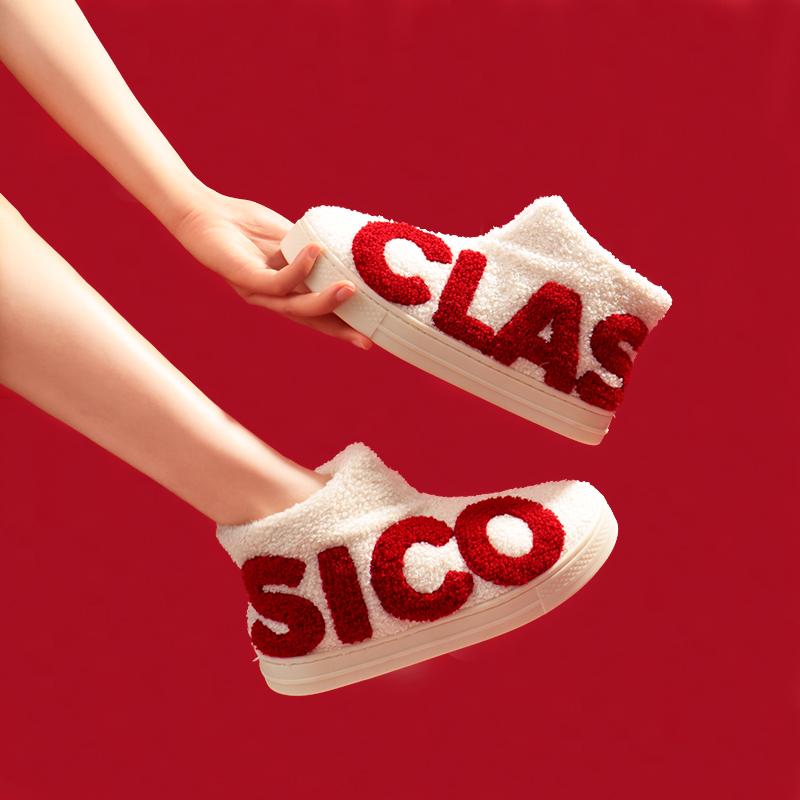 【shoes】キュートアルファベットファッションフラットシューズ24156371