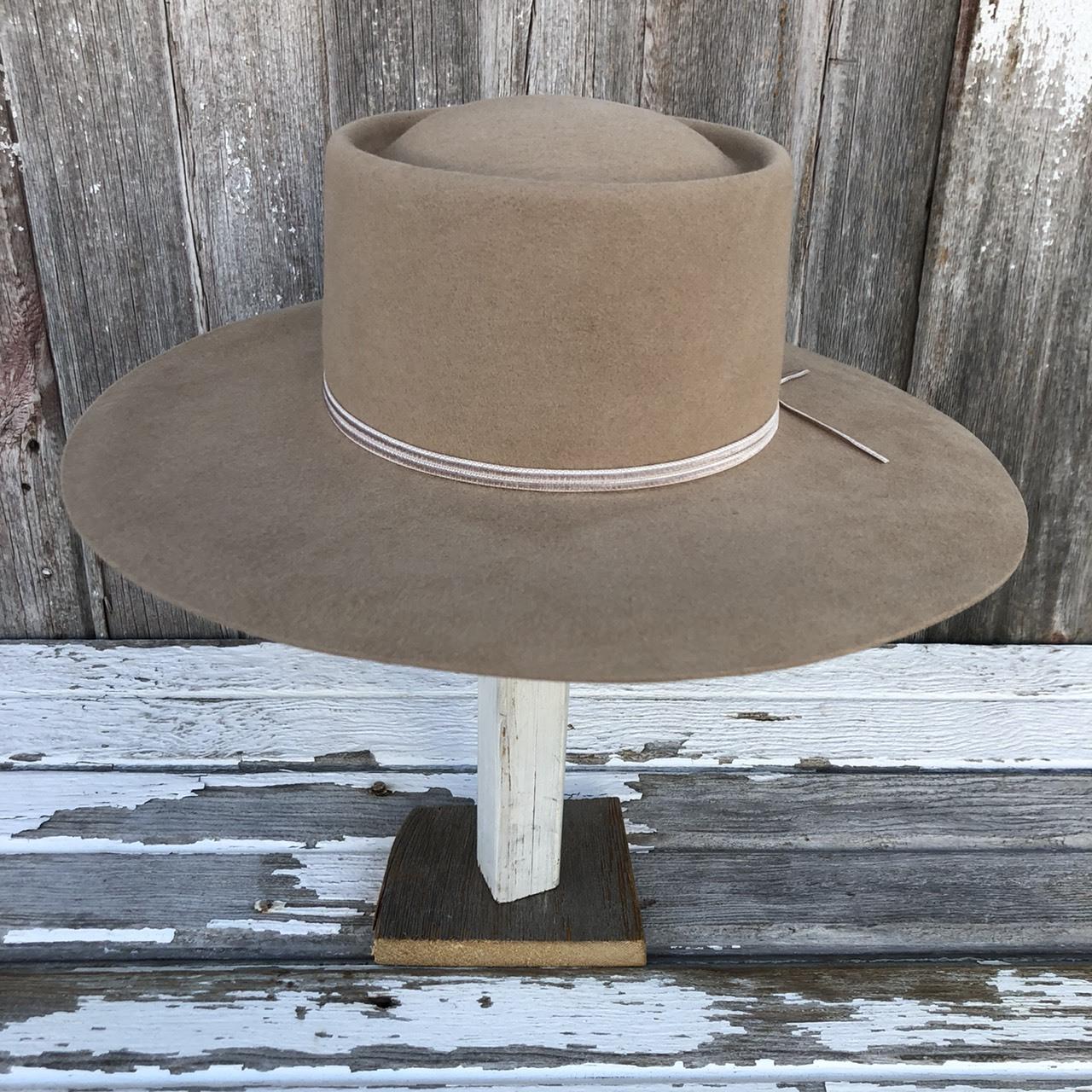 MARIHOJA #Felt Flat Hat