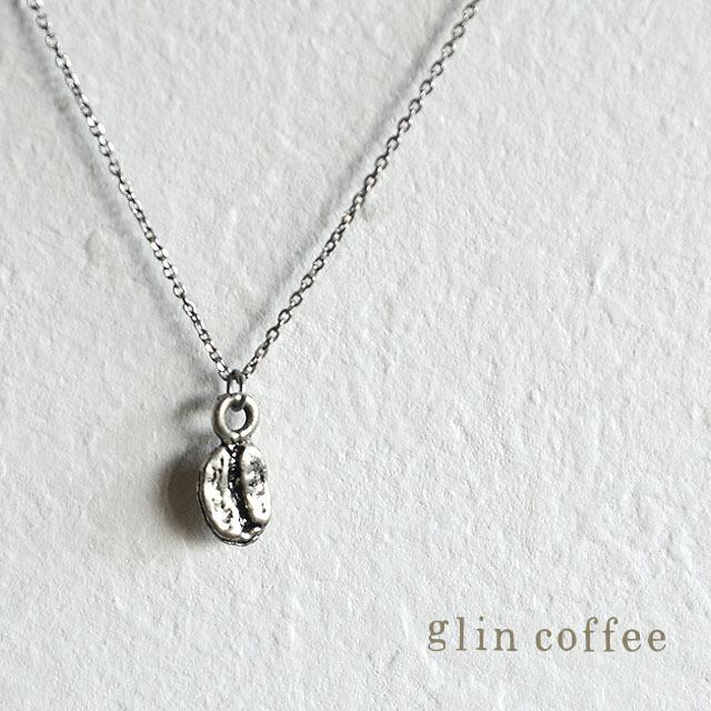 glincoffeeペンダント (ビーンズ・シルバー)