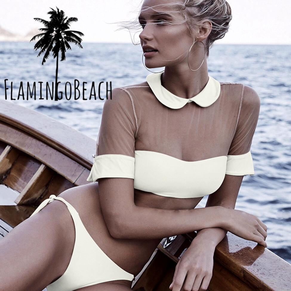 【FlamingoBeach】macaron tops bikini ビキニ